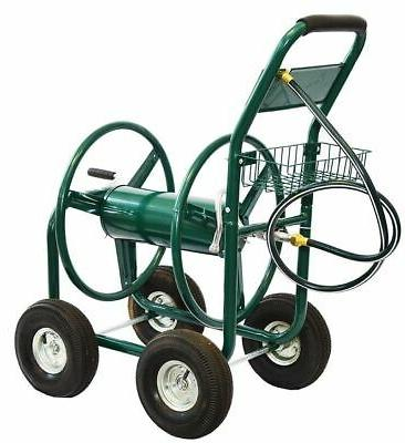 XtremepowerUS Hose Reel Cart 300 FT Outdoor Yard Planting
