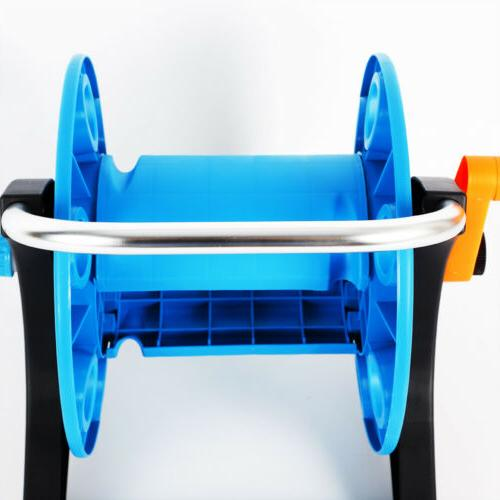 Garden Hose Reel Portable Freestanding Reels Water Pipe Storage