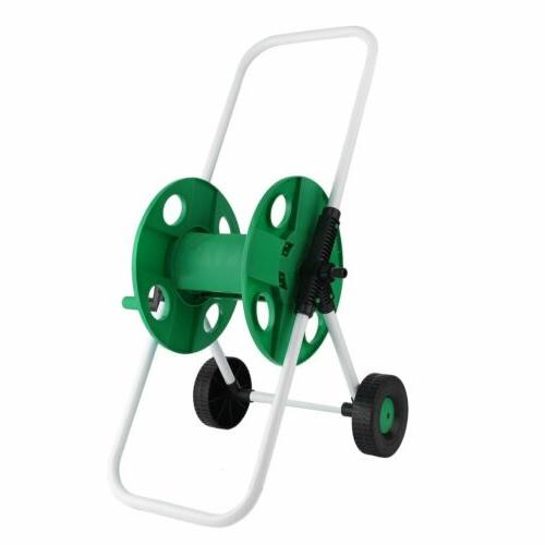 Garden Water Pipe Holder Garden Cart Hose Holder Trolley USA