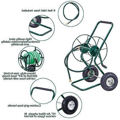 Garden Wheeled Hose Cart Frame