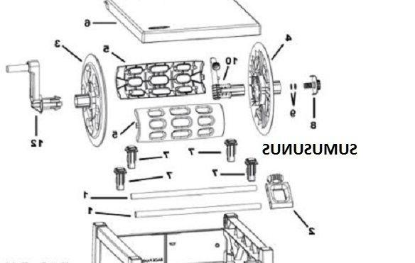 GENUINE REEL IN PARTS KIT IN & OUT