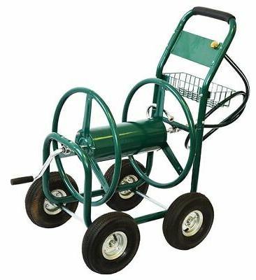 XtremepowerUS Garden Reel Cart FT Outdoor HD Yard