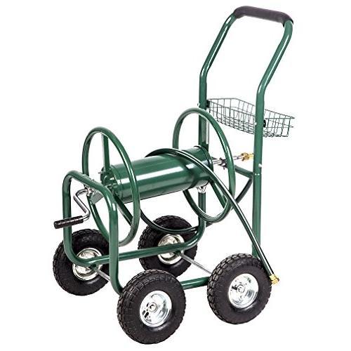 BestMassage Garden Water Reel Cart Hose Yard Water