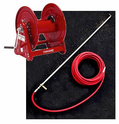 hose reel 6 aluminum spray wand 75