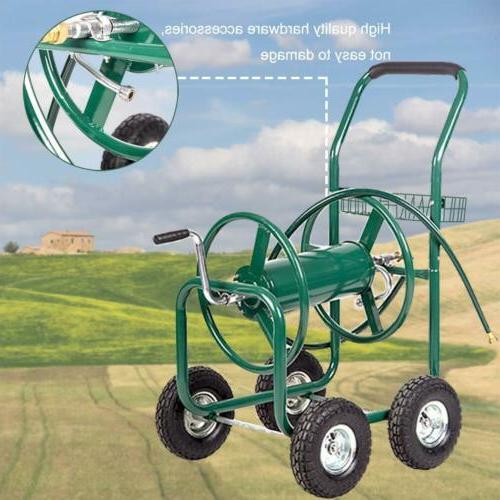 Hose Cart Garden Duty Grass W/Basket
