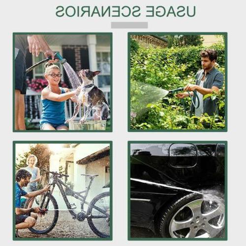 Hose Cart 300' Garden Outdoor Duty Yard W/Basket