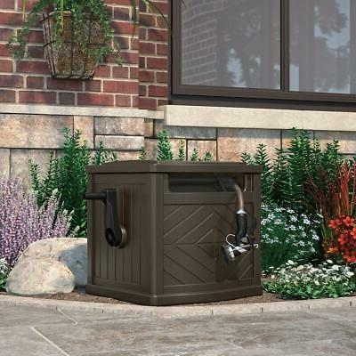 Portable Outdoor Garden 150 Ft Hideaway Water Hose Storage P