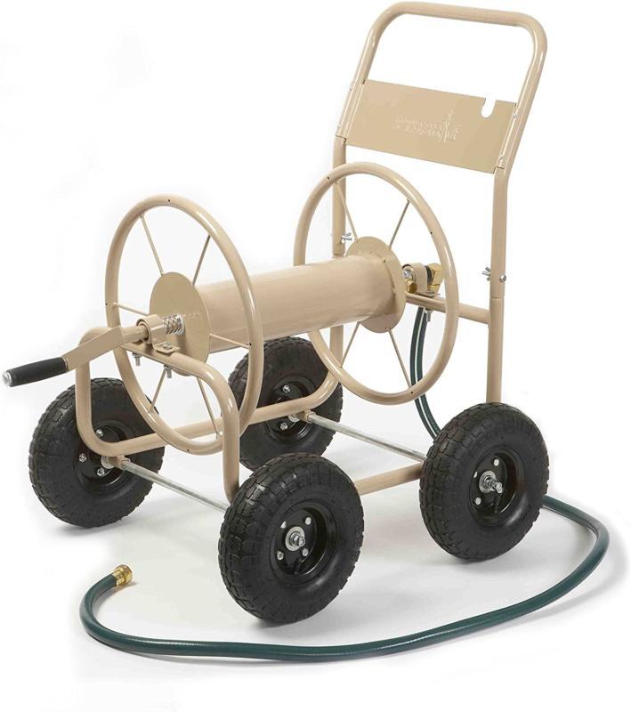 Liberty Garden 870-M1-2 Industrial 4-Wheel Garden Hose Reel