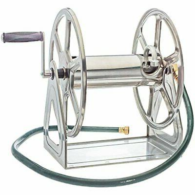 Liberty Garden Products 709-S2 Hose Reel, Stainless Steel St