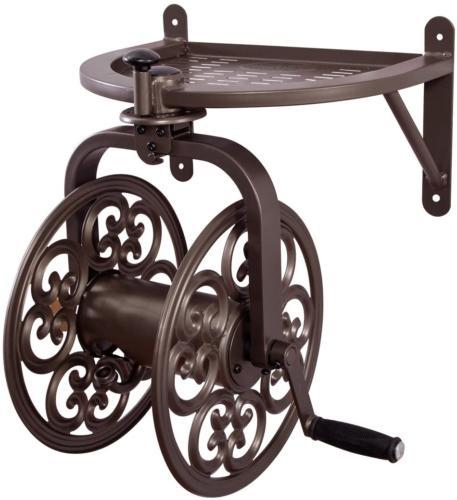 Navigator Rotating Garden Hose Reel Holds 125-Feet of 5/8-In
