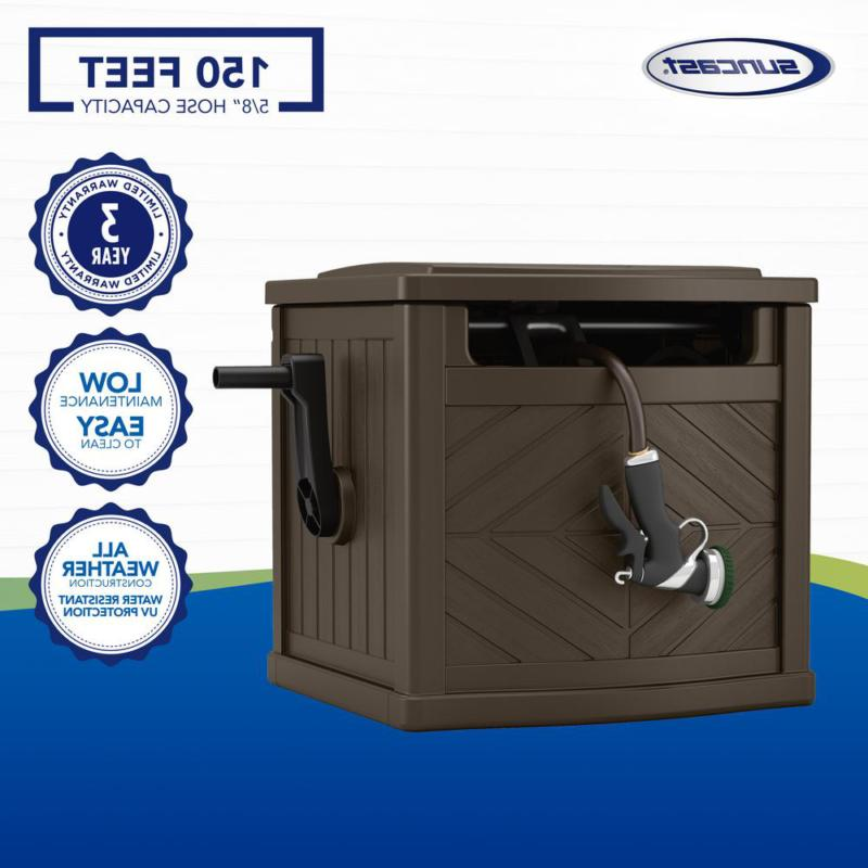 Never Leak 150 Ft Hose Storage Cabinet Watering