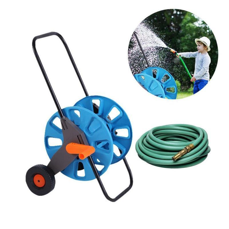 Pipe Hose Cart Outdoor Planting Cart Holder