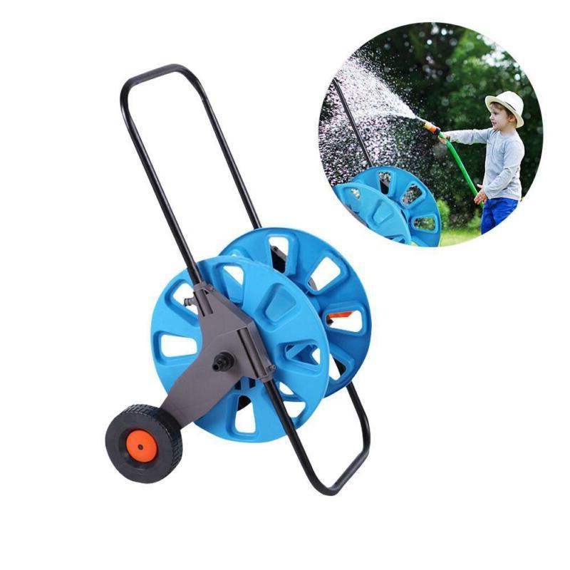 portable aluminum garden water pipe hose reel