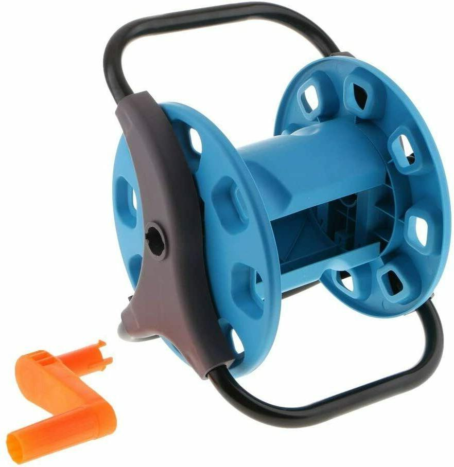 portable garden hose reel stand with wheels