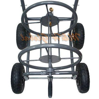 Portable Water Hose Reel Wheels Reels 5/8 inch