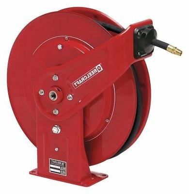 REELCRAFT PW7650 OHP1 Pressure Washer Hose Reel, 50 ft, 5000