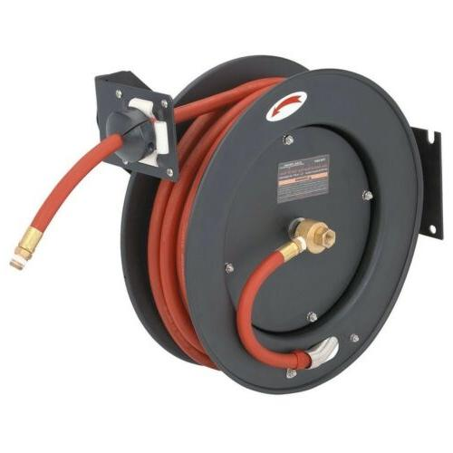 retractable air hose reel auto