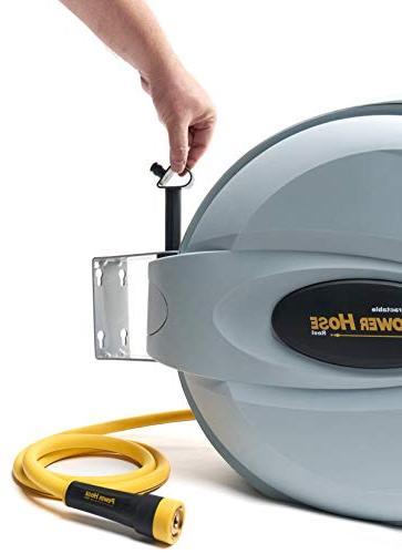 """Power Retractable 5/8"""" x 6 Heavy Duty, Strength, 3 Hose, Exclusive The Patented"""