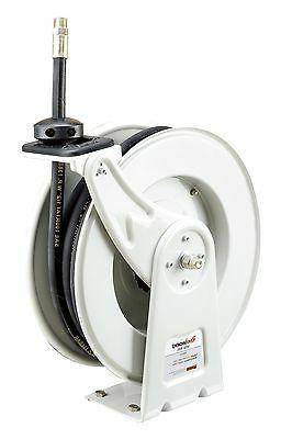 SAE 100R1 Hose REELWORKS Spring Rewind Oil Hose Reel with  1//2 inch X 50 ft
