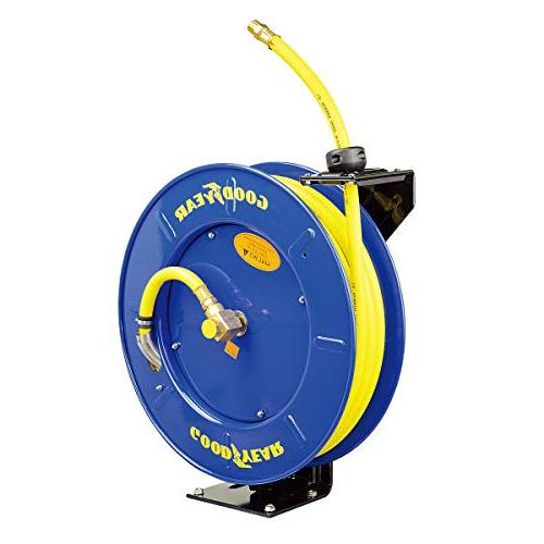 Goodyear Compressor/Water Hose Reel Rubber Hose, Max.
