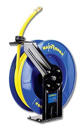 steel retractable air compressor water