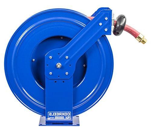 Coxreels Supreme Spring Rewind Reel for fuel: 35' fuel PSI