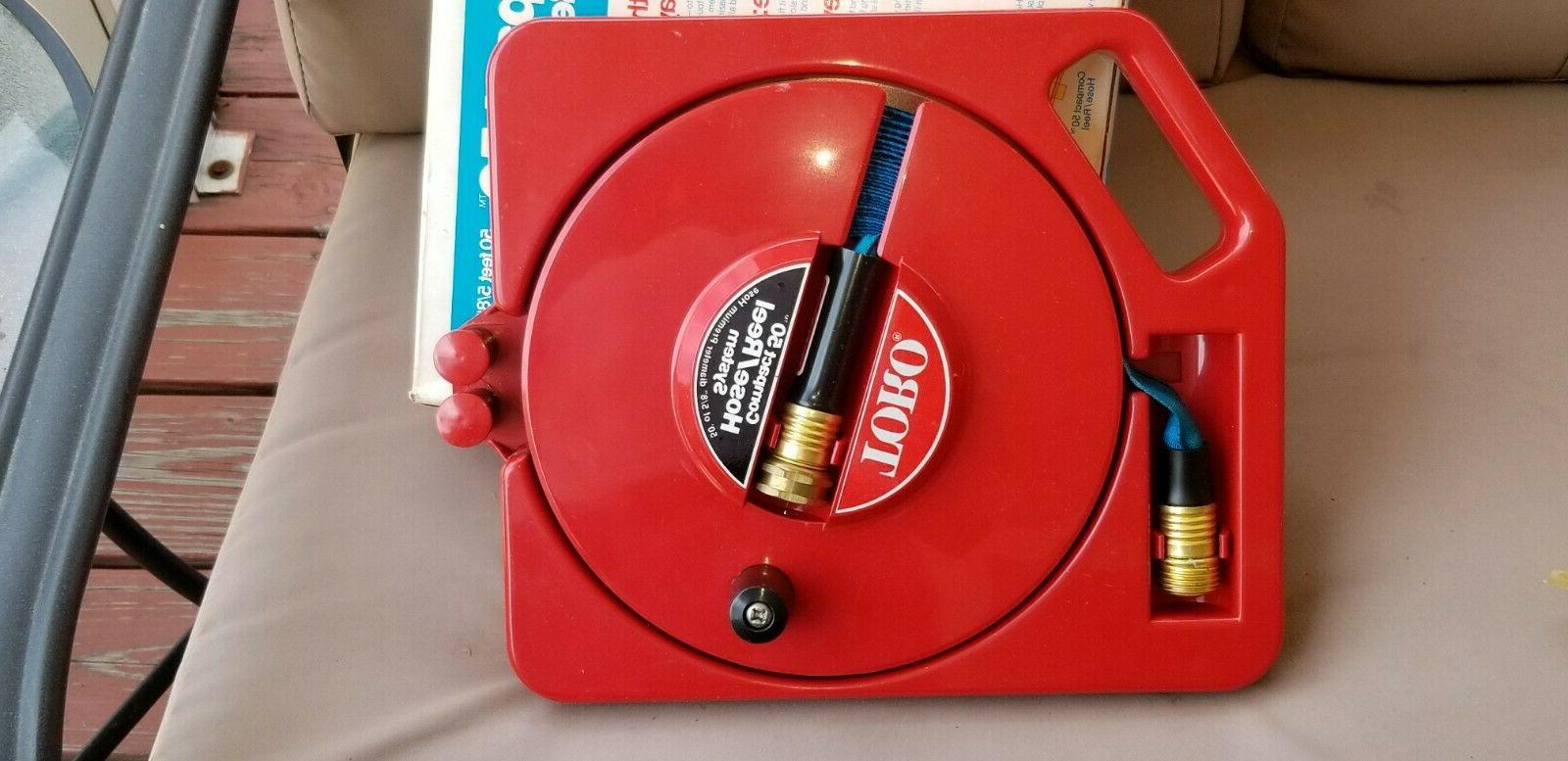 Vintage Toro  50 Compact Water Hose/Reel System In Box Lawn