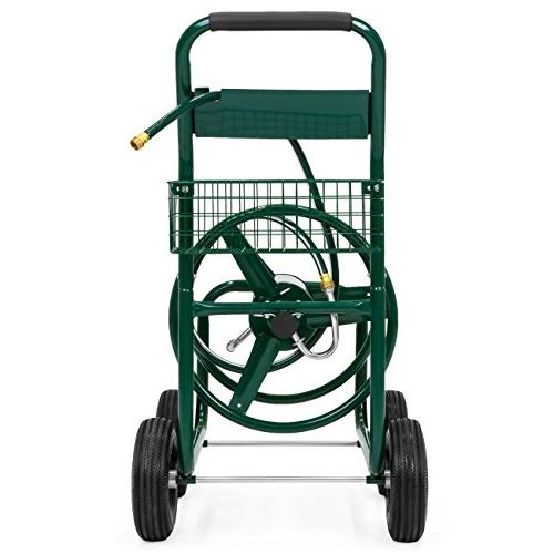 Best Choice Products w/Basket for Garden, Heavy Duty Yard Planting - Green