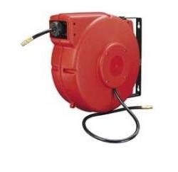 Workforce Retractable Enclosed Plastic Air Hose Reel, 3/8 in