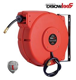 ReelWorks L715153A Plastic Retractable Air Compressor/Water