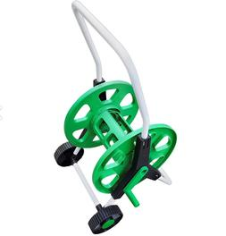Lawn And Garden Hose Reel Cart On Wheels Up to 200 ft. Durab