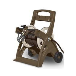 Suncast LGN2126M Brown & Taupe Hose Reel Cart