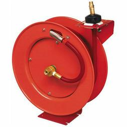"Lincoln 1/2"" Air Hose Reel Auto Rewind 50' #83754"