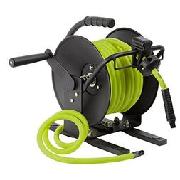 Flexzilla Manual Open Face Air Hose Reel, 1/4 in. x 100 ft.