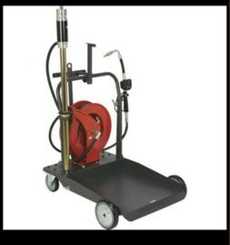 NEW OPEN BOX Ironton Air-Operated 5:1 Oil Pump Kit- w Cart a