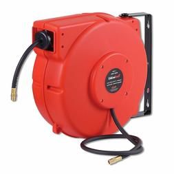 REELWORKS Plastic Retractable Air Compressor Hose Reel With