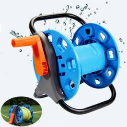 Portable Aluminum Garden Water Pipe Hose Reel Cart Outdoor P