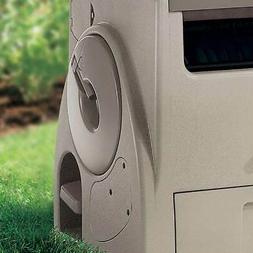 Suncast 100-Ft. Powerwind Automatic Rewind Hose Reel, Light