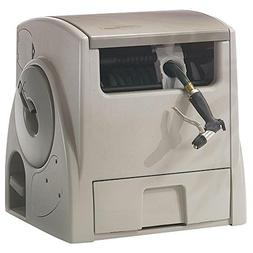 Powerwind Automatic Rewind Hose Reel 100 Ft., Battery-powere