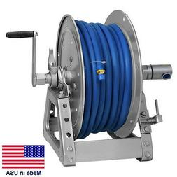 "PRESSURE WASHER & SPRAYER Manual Hose Reel - 125 Ft 3/8"" or"