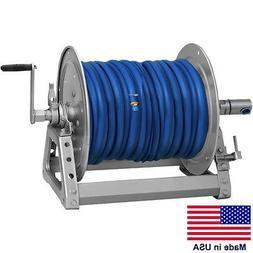 """PRESSURE WASHER & SPRAYER Manual Hose Reel - 300 Ft 3/8"""" or"""