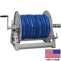 "PRESSURE WASHER & SPRAYER Manual Hose Reel - 300 Ft 3/8"" or"