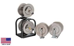PRESSURE WASHER & SPRAYER Stackable Hose Reels - 1 High & 1