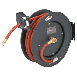 "Retractable Air Hose Reel Auto Rewind 3/8"" x 25' Compressor"