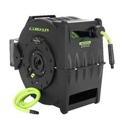 Flexzilla® Retractable Air Hose Reel with Levelwind™ Tech
