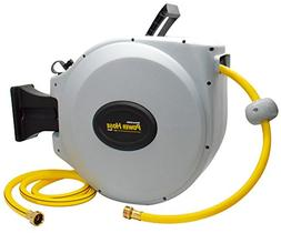 Power Retractable Hose Reel Super Heavy Duty, 500 PSI Burst