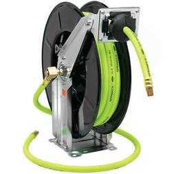 Flexzilla Retractable Open Face Dual Arm Air Hose Reel, 1/2