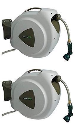 RL Flo-Master 65HR8 Retractable Hose Reel, Brown )