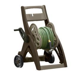 Water Hose Reel Storage Cart Rolling Holds 150 Ft Garden Yar