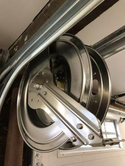 "Coxreels SHL-N-450-SS Stainless Steel Hose Reel 1/2"""